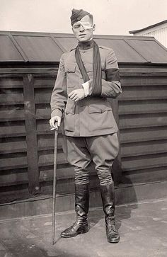 Gibbons, Floyd P. War Correspondent, After Being Wounded.
