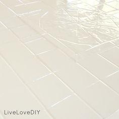 Epoxy Paint Over Ugly Tiles