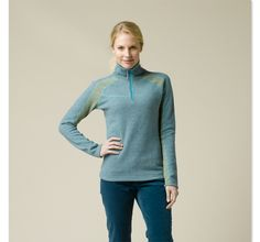 Corrine Sweater prAna  Love the color  need review of itchiness