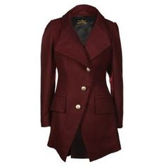 Vivienne Westwood Anglomania State Buttoned Coat