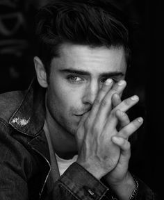 Zac Efron by Matthew Brookes for In Style