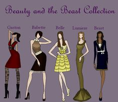 Beauty and Beast Collection by TheWhiteSwan.deviantart.com on @DeviantArt