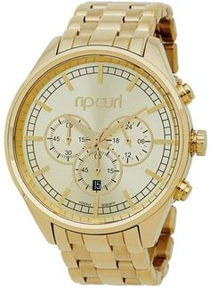 RIP CURL BAILEY CHRONO GOLD SSS WATCH