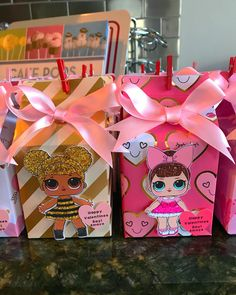 10 Lol Surprise Dolls Party Favor Bags Sophia Lol Party