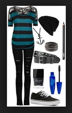 Tomboy and Cute Outfits