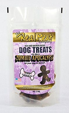 Real Meat Co 70033 Zombie Apocolypse Beef44; Oatmeal & Molasses Cookies44; 16oz