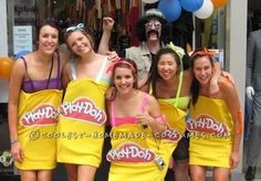 Coolest Play-Doh Group Costume... Coolest Halloween Costume Contest