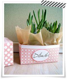 Veridiana Fromm: freebie friday - blömkes box