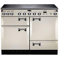 Buy Rangemaster Leckford 110cm Electric Induction Range Cooker Online at johnlewis.com