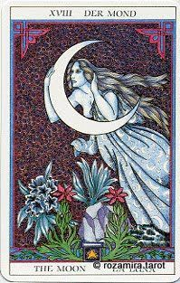 The Moon Sissi Tarot