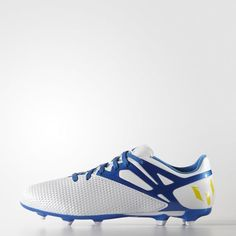 Scarpe da calcio Messi15.3 Firm Artificial Ground - Bianco adidas  79276df4e0cda