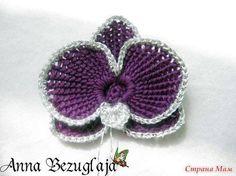 flower- tunisian crochet?