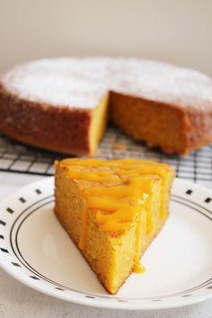 Eggless Mango Cake Recipe – spongy, moist mango cake recipe. Perfect dessert for summer season or for mango lovers.