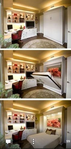 Hide away bed for master's bed room