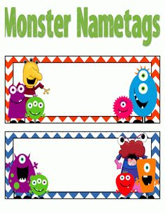 preschool name tag templates - kindergarten name tags on pinterest cubby name tags
