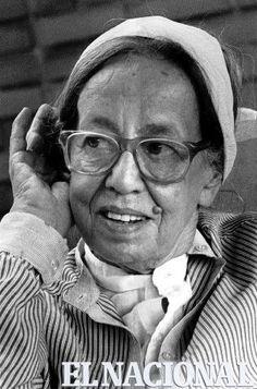 Gertrude Goldschmidt. Gego; artista plástico germano-venezolana. 08-07-1980 (LUIS AGUILERA / ARCHIVO EL NACIONAL)