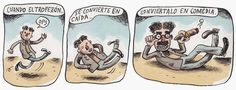 (Ricardo Siri Liniers) Picture Quotes, Peanuts Comics, Illustration Art, Humor, Pictures, Spanish, Passion, Comic Strips, Illustrations