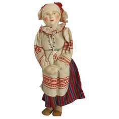 Russian Stockinet Lady Doll