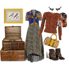 """""""For the Birds"""" by jodybat on Polyvore"""