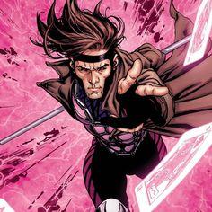 Gambit | Gambit from the X-Men iPad wallpaper.
