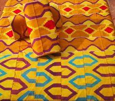 Kente/ African groom suit/ Kente Fabric/ Original kente Ghana/Kente sash/ African fabric design/African fabric fashion/African print design/