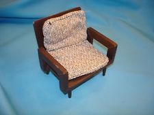 Mattel MODERN Furniture arm chair VINTAGE 1959 Era Barbie Doll
