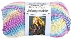 Red Heart Boutique Unforgettable Yarn in by kayscrochetpatterns