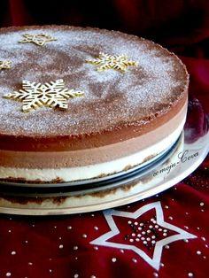Tarta 3 chocolates - Triple Chocolate Cake