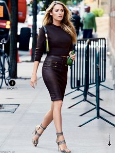 Blake Lively style!!! so cute I wish I lived in New York so bad sometimes...