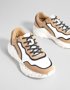 online store 5bc2a 0ebe6 Комбинированные кроссовки на платформе