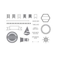 Settin' Sail Photopolymer Stamp Set $14.00