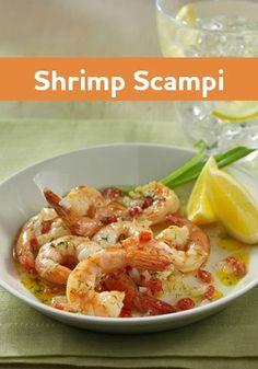 grilled garlic bread with white bean shrimp scampi shrimp scampi ...
