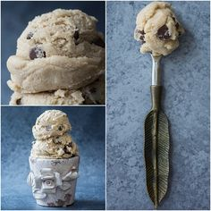 Eggless cookie dough! Now I can eat cookie dough without worry...
