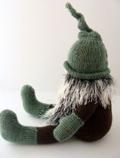 alan dart tomte patterns | Gnome Hand Knitted Swedish Tomte | BlueShedCrafts - Knitting on ...