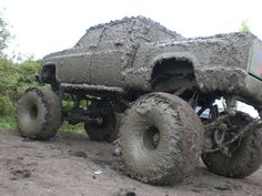 How do you get so much mud on one truck