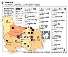 En Medellín la Unidad de Tierras no ha podido restituir ningún predio Villa, Words, Santa Cruz, Maps, Unity, United States, Earth, Fork, Villas