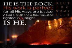 Deut. 32:4
