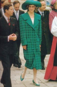 Princess Diana in Italy, May 5, 1985