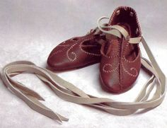Revival, Irish-Scandinavian Apair of Shoes, 9th Century.