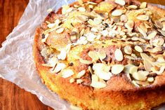 Pear and Almond Cake - This is a cake so difficult to mess up that you're almost guaranteed a delicious, moist and delightful sponge, chock full of pears. Cake Recipes Uk, Sweet Recipes, Baking Recipes, Dessert Recipes, Pear Recipes, French Recipes, Baking Ideas, Dessert Ideas, Pear And Almond Cake