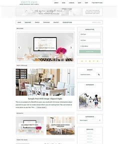 Pretty Darn Cute Design - Feminine Genesis WordPress Themes