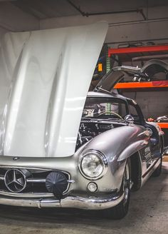Mercedes Benz #300SL. For all your Mercedes Benz #190SL restoration needs please…