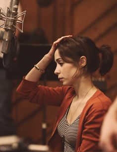 Cristin Milioti #once . She's actually incredible