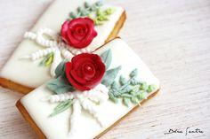 Dolce Sentire {Galletas decoradas}: Cake-to-Cookie (de Tarta a Galleta) #cookies #galletasdecoradas #galletas #royalicing #decoratedcookies