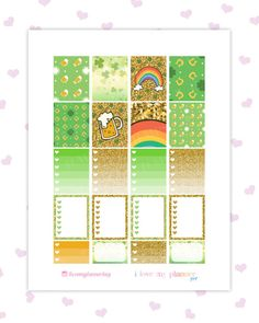50% OFF SALE/ LUCKY Printable Planner by ilovemyplannershop