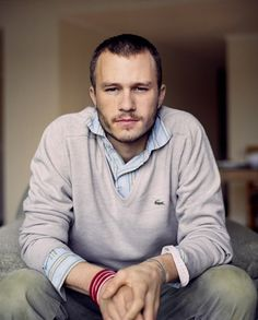 Heath Ledger (April 4, 1979 – January 22, 2008)  Australian television and film actor.
