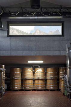 Weingut DAVAZ #wine #architecture #switzerland