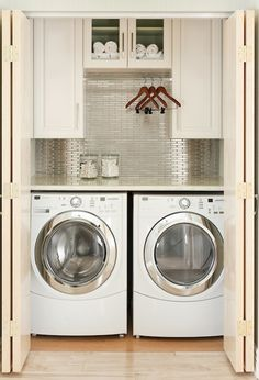 10 Ideas for When Your Laundry Room is a Closet
