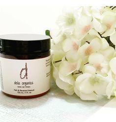 Delia Organics - Halt & Reverse Masque with Bayberry & Peptides - $25.00  www.deliaorganics.com