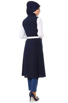 d001331802dd9 2016 için en iyi 30 Tesettür Giyim görüntüsü   Vest ve Vest outfits
